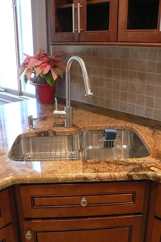 17 Unique Dual Corner Kitchen Sink Sink Design Corner Sink Kitchen