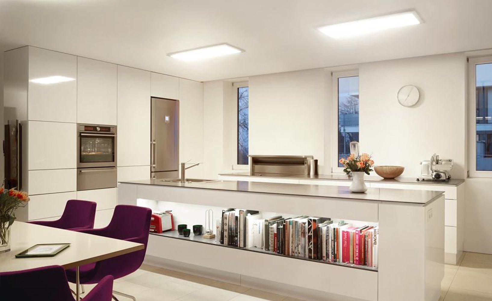 LED Panels Für Die #Küche Oder Das #Büro: Led Lampe Küche, Lichtquelle