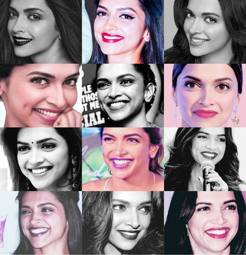 Deepika's smile