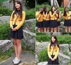 Seoul school of performing arts uniform