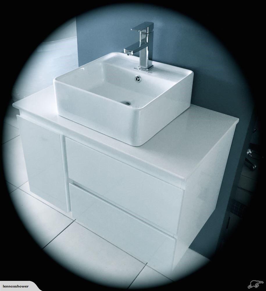 Vanity - 800mm White Quartz Stone Counter Top Set | Trade Me | House ...