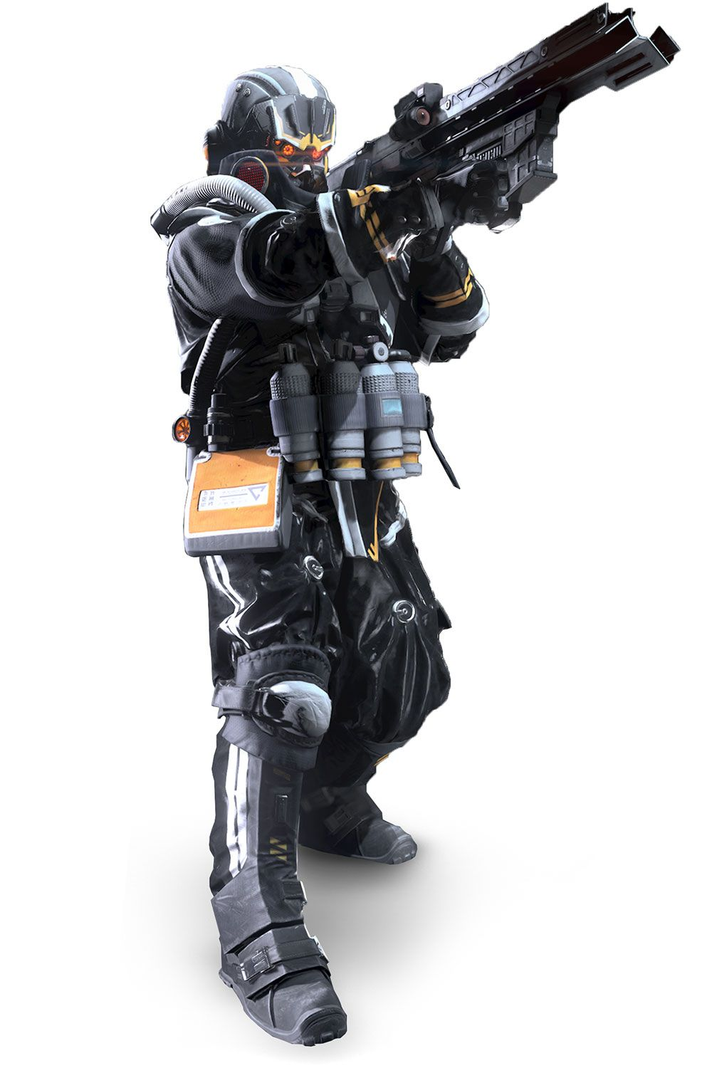 killzone shadow fall helghast soldier wwwimgkidcom