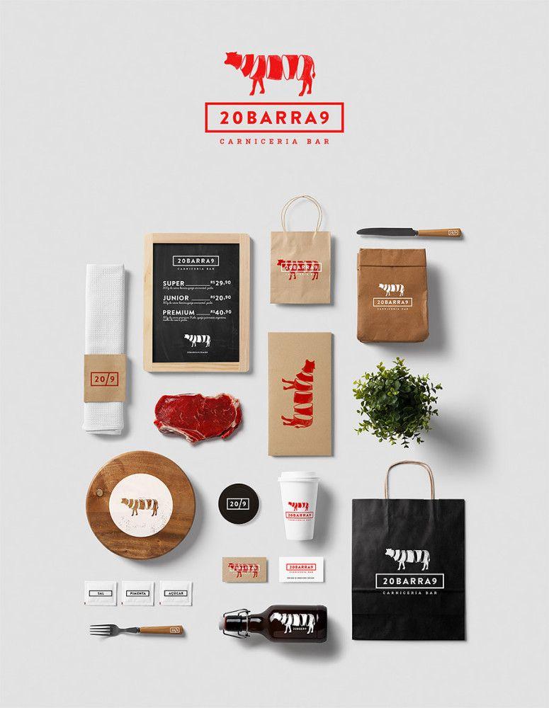 Burger Bar Identity by Isabela Rodrigues – Fubiz Media