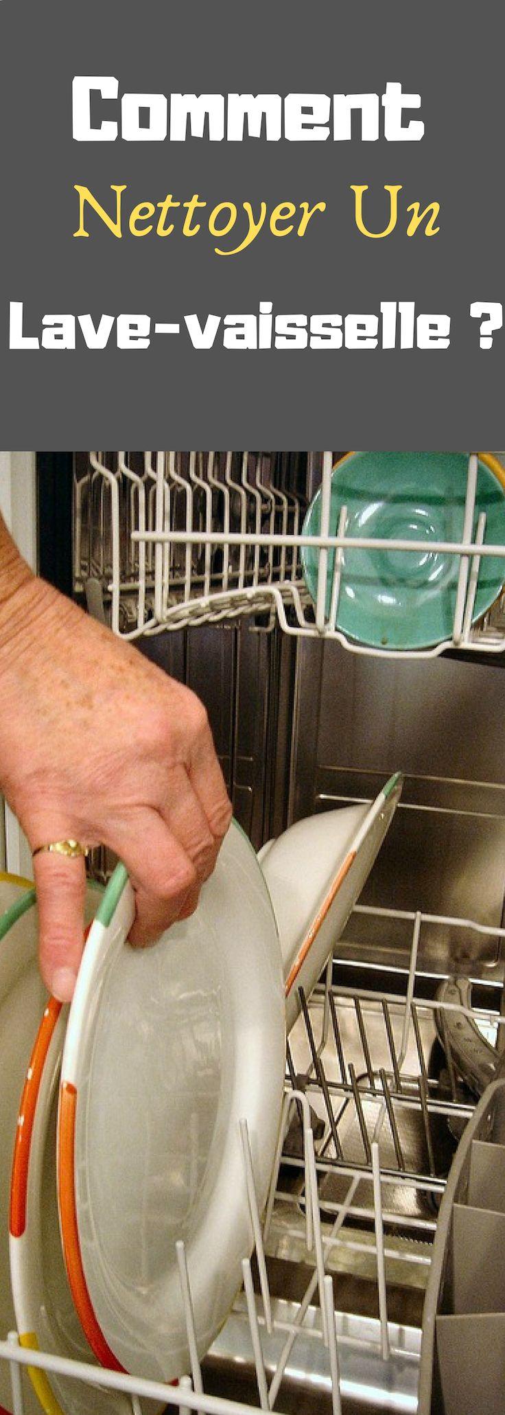 comment nettoyer un lave vaisselle nettoyage naturel. Black Bedroom Furniture Sets. Home Design Ideas
