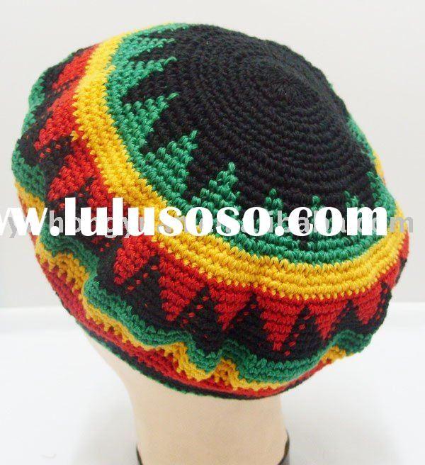 Free Patterns For Rasta Caps Rasta Hat Crochet Pattern