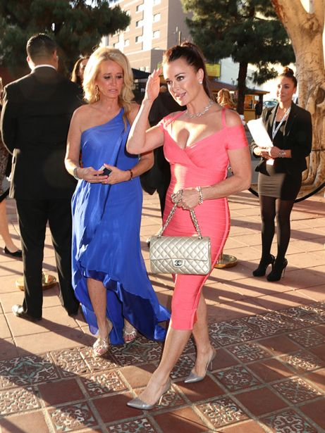 'Real Housewives of Beverly Hills' stars Kyle Richards and Kim Richards attend REVOLT and NCTA Host VIP Gala For Talent and Cable Execs