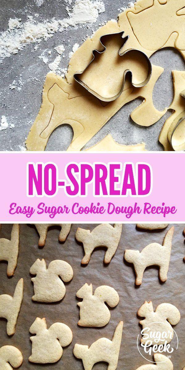 No-Spread Sugar Cookies with Susan Trianos #sugarcookies