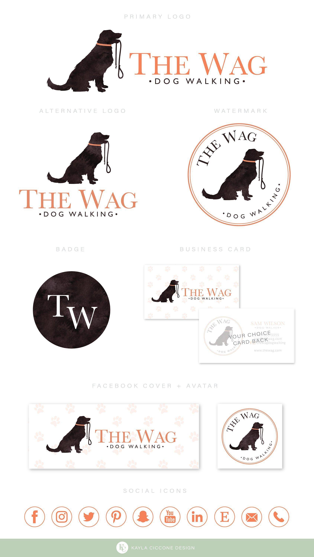 Minimalist Dog Logo Design Dog Walker Logo Pet Logo Dog Groomer Logo Dog Trainer Logo Pet Photography Logo Logo Set Premade Logo Dog Logo Design Pet Logo Design Dog Walking Logo