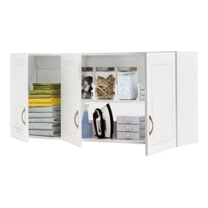 Closetmaid Dimensions White Raised Panel Laundry Cabinet White Storage Cabinets Closetmaid Laundry Cabinets
