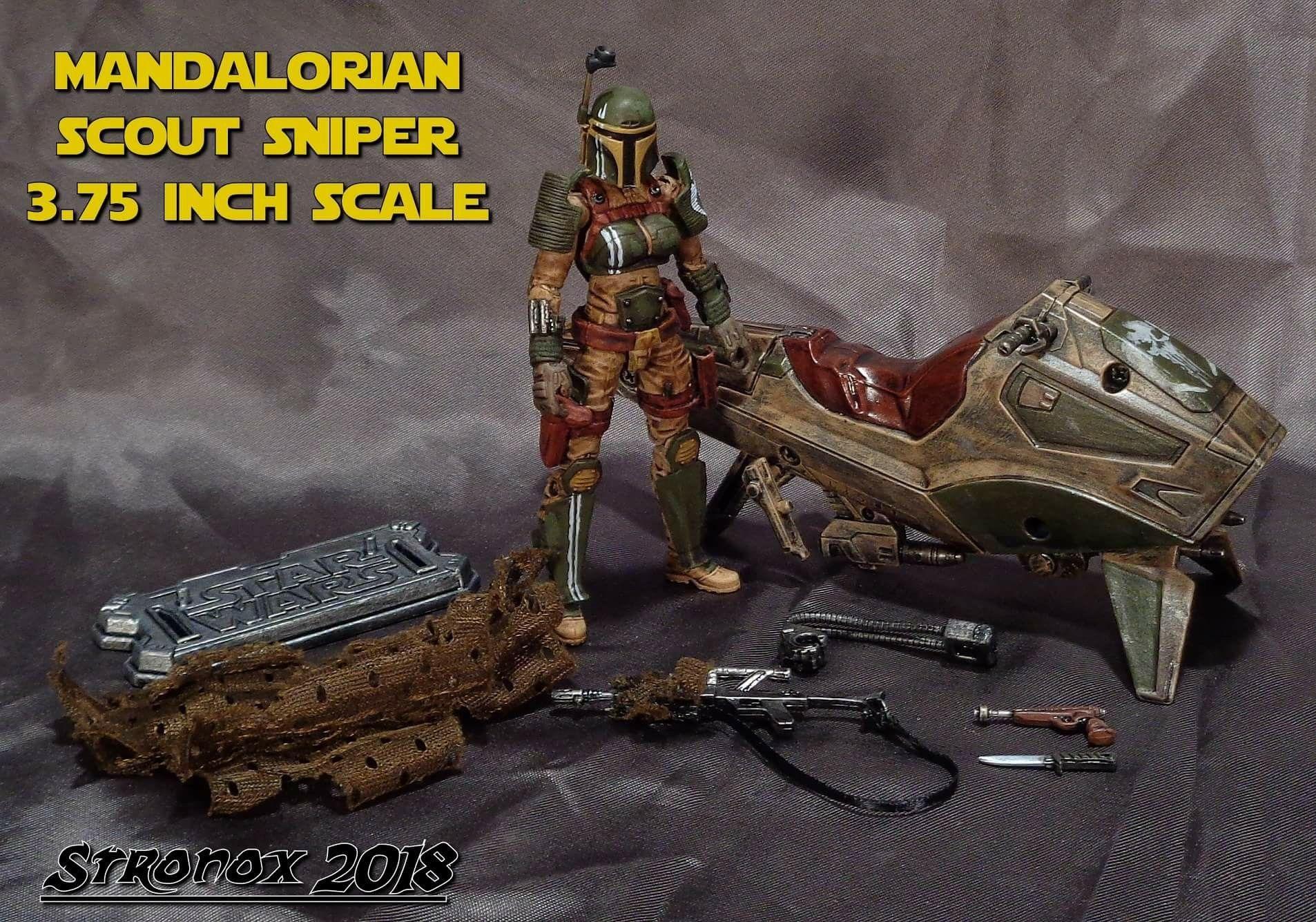 Pin By Traropa Customs On Custom Star Wars Figures Custom Action