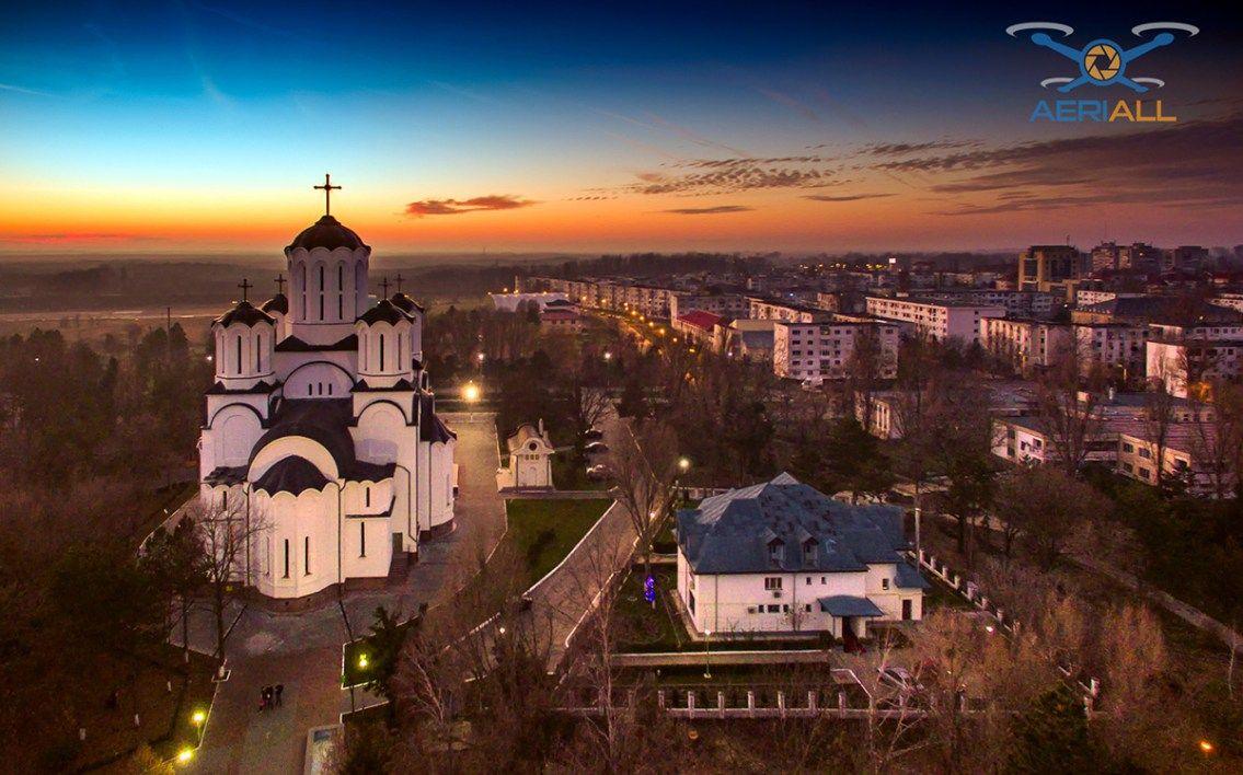 Panoramă 360 Catedrala Înălțarea Domnului din Slobozia