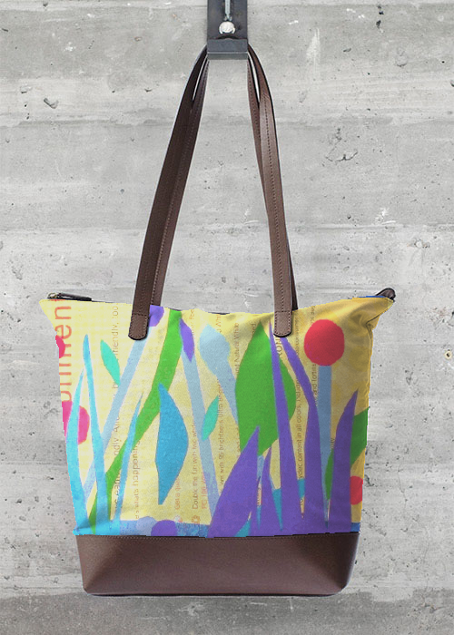 VIDA Tote Bag - My Mondrian Tote by VIDA 4IfI9yobtY