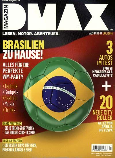 Was für Sport magst du? Jeden, hauptsache er läuft im Fernsehen ;) Gefunden in: DMAX MAGAZIN Nr. 7/2014