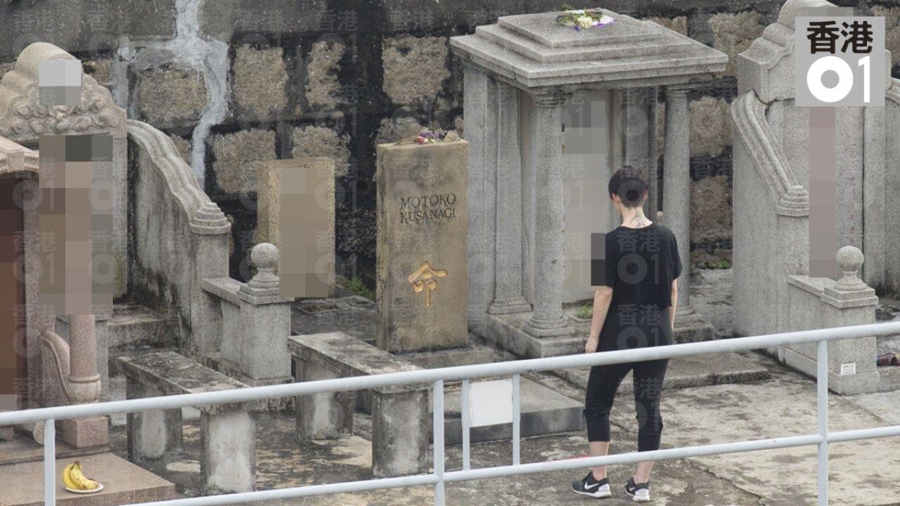 Scarlett Johansson In Hong Kong Filming For Ghost In The Shell Ghost In The Shell Ghost Scene Image