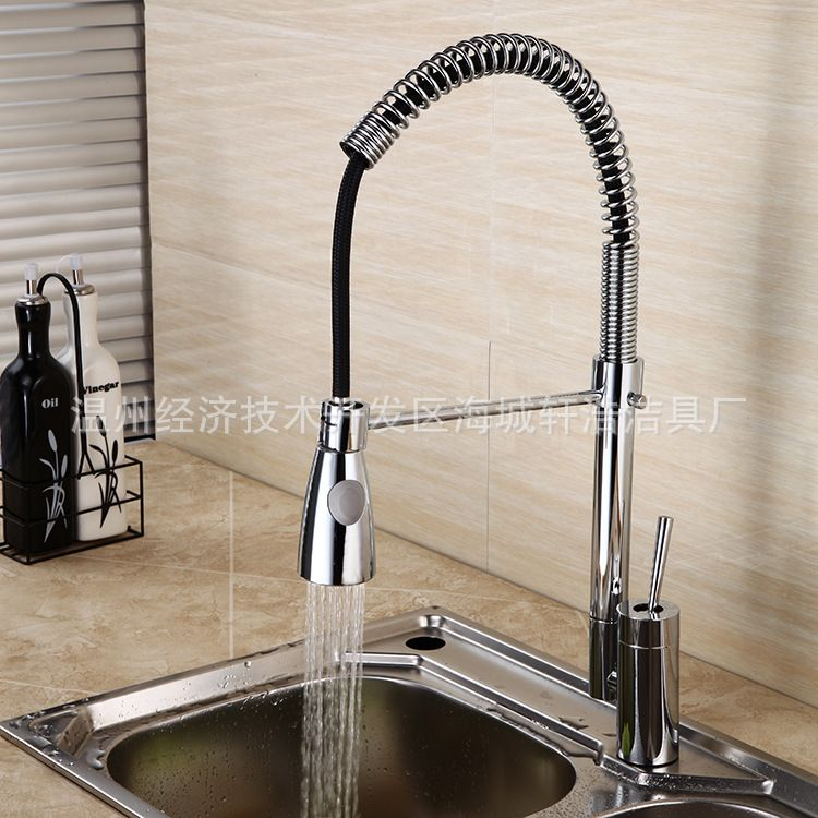 Kitchen Faucet Single Type Spring Water Tap Faucets With Sprayer Pot Filler Faucet Wire Kitchen Sink Taps Kitchen Sink Taps Kitchen Fixtures Pot Filler Faucet