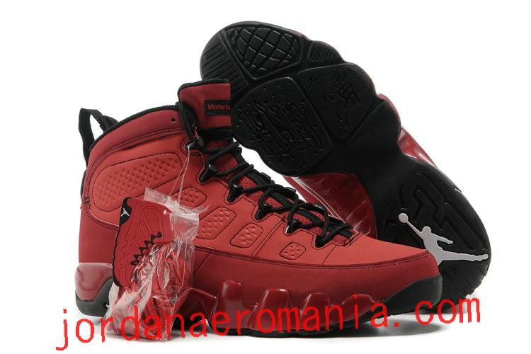Air Jordan IX (9) Motorboat Jones - Challenge Red Rouge/Noir-Blanc
