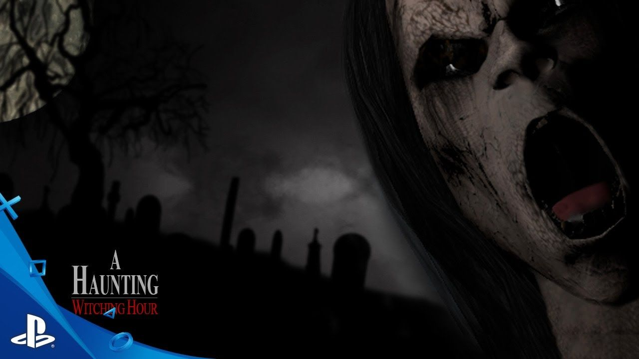 A haunting witching hour teaser trailer ps vr vr