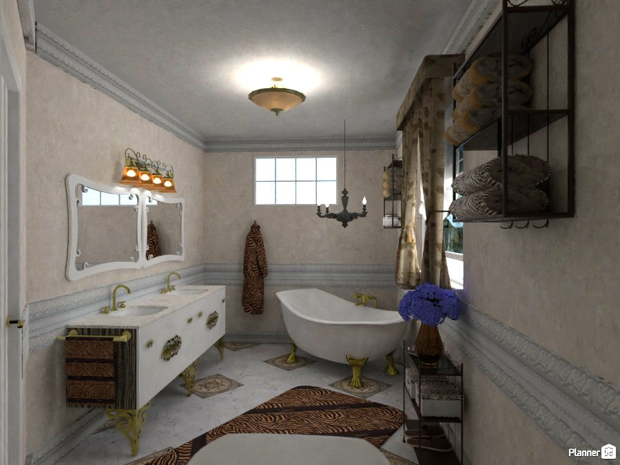 Classic Bathroom Interior Planner 5d