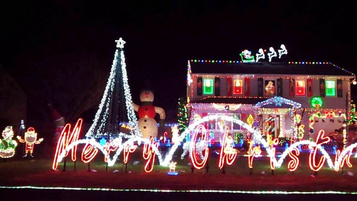 Luxury Beast And Biggest Outdoor Christmas Lights At House Decor Ideas Image Part 84
