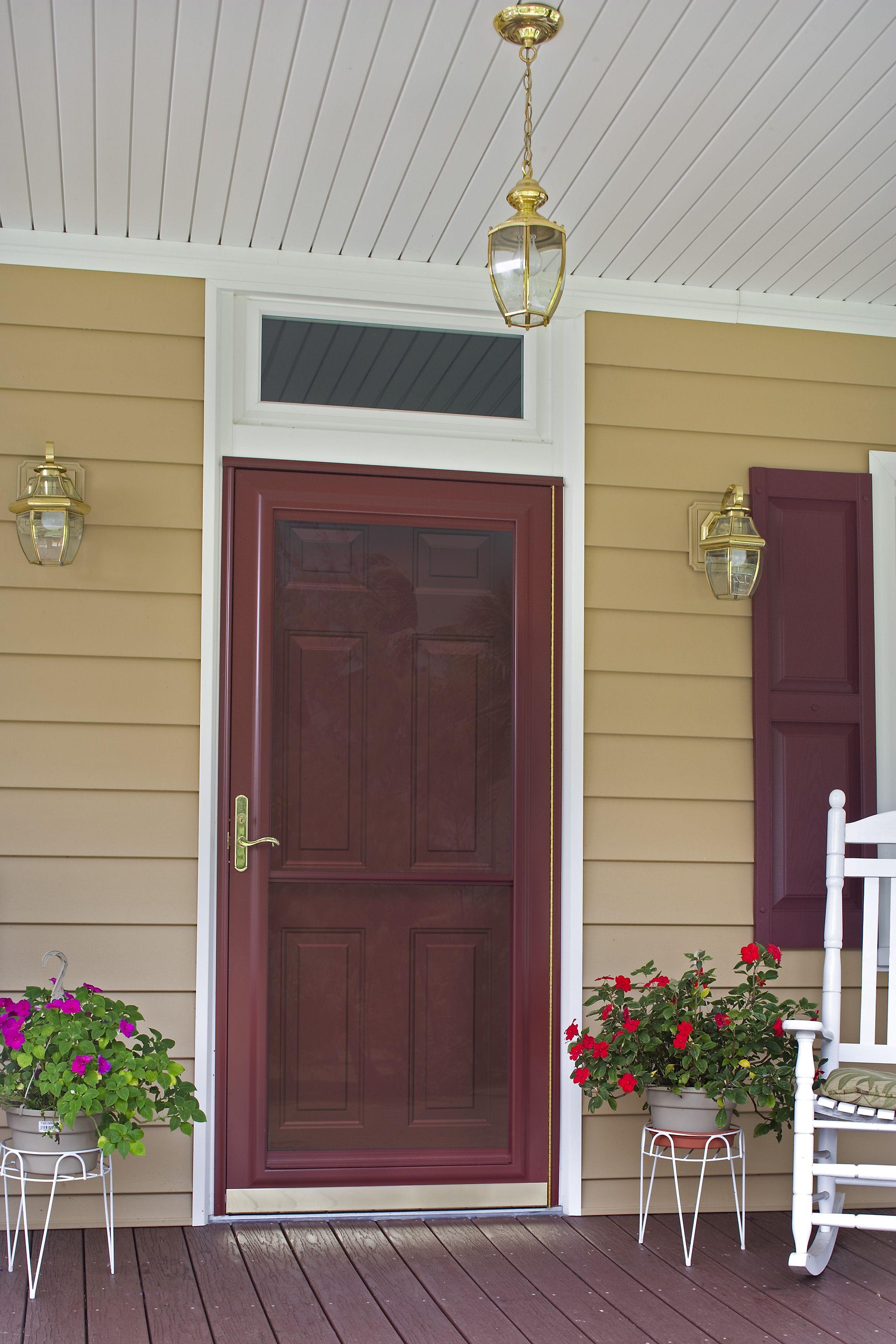 ProVia Spectrum Storm Door & ProVia Spectrum Storm Door | Open Sesame | Pinterest | Storm doors ...