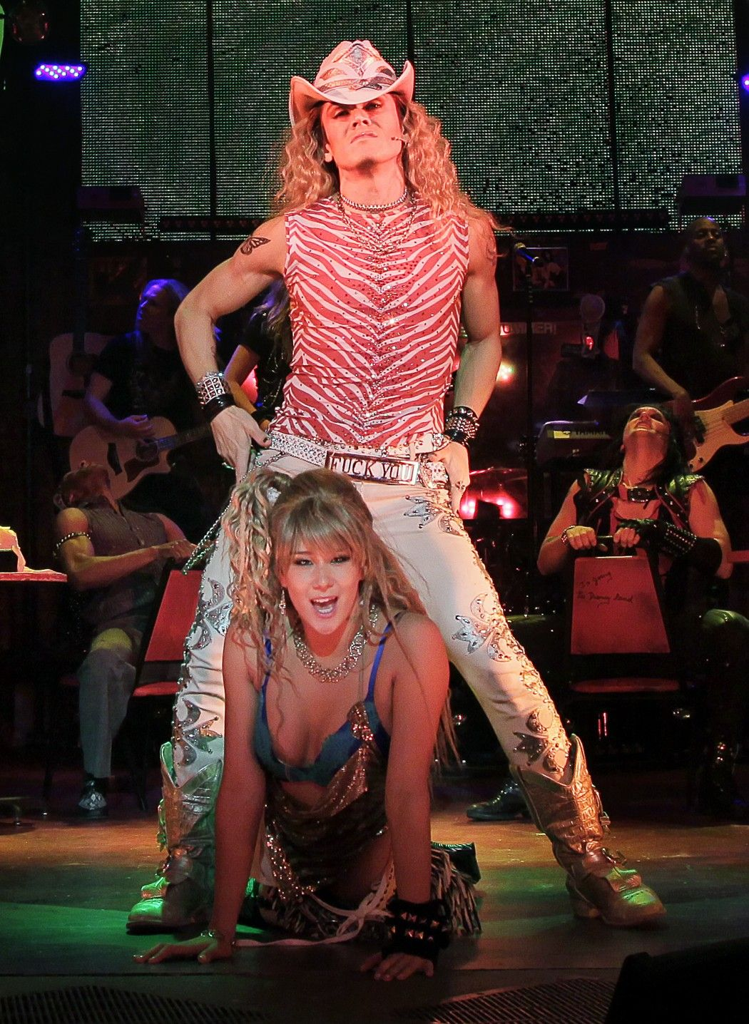A Rockstar on and off Broadway Rock of ages, Rockstar