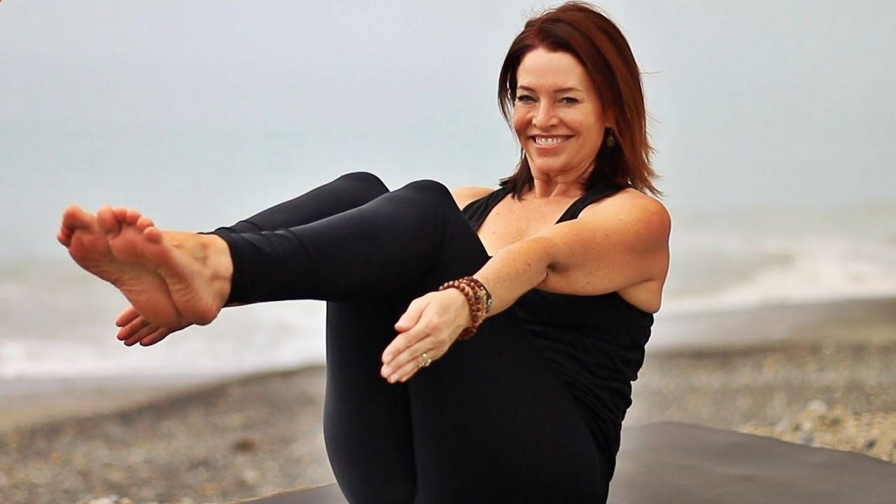 Yoga Workout - Total Body Yoga Workout For Weight Loss With