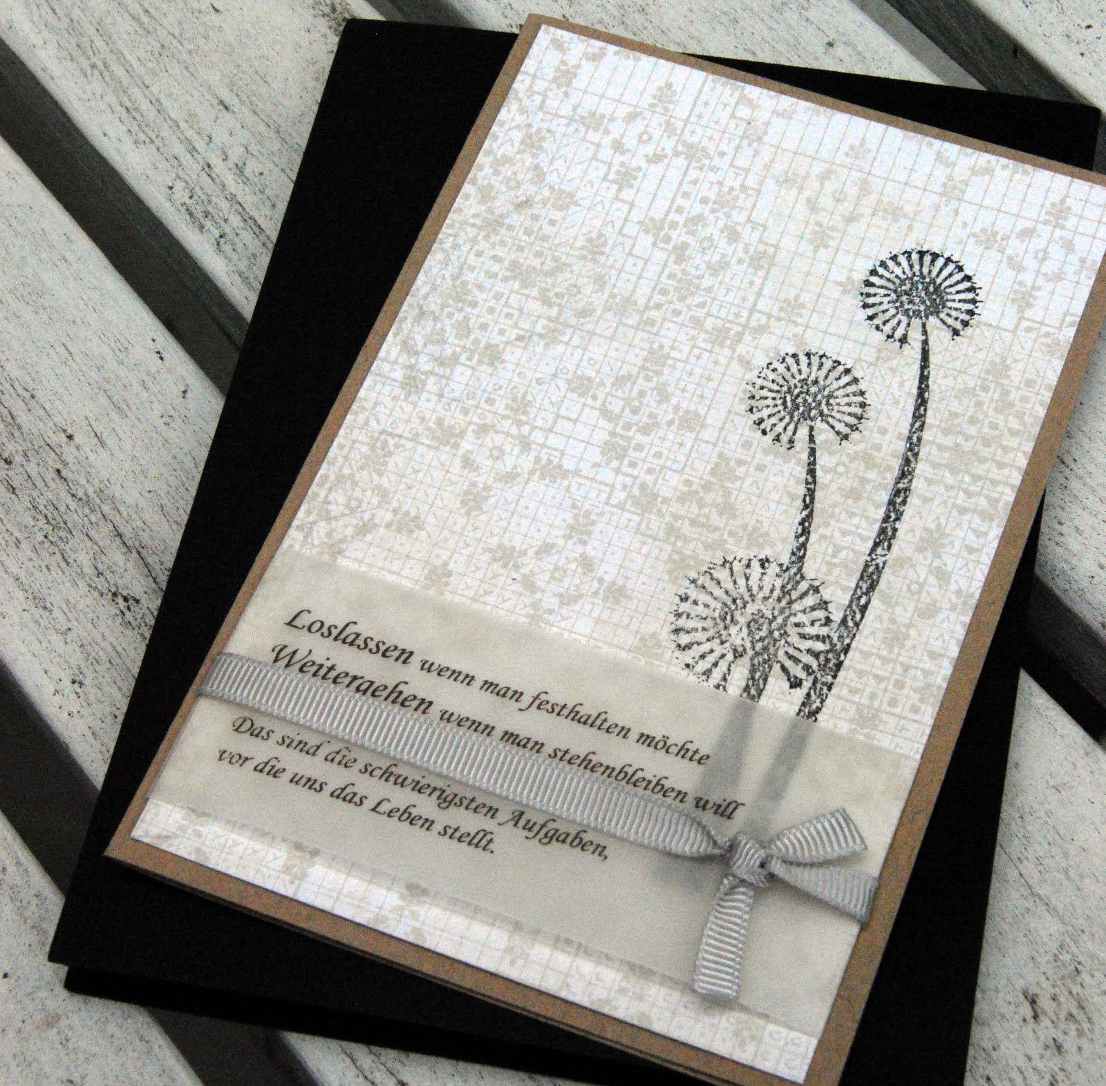 Schon Als Trauerkarte Danksagung Karten Beileidskarten Kondolenz