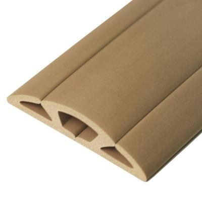 5 ft. Cord Protector with 3-Channels, Beige | Cord protector, Cord ...