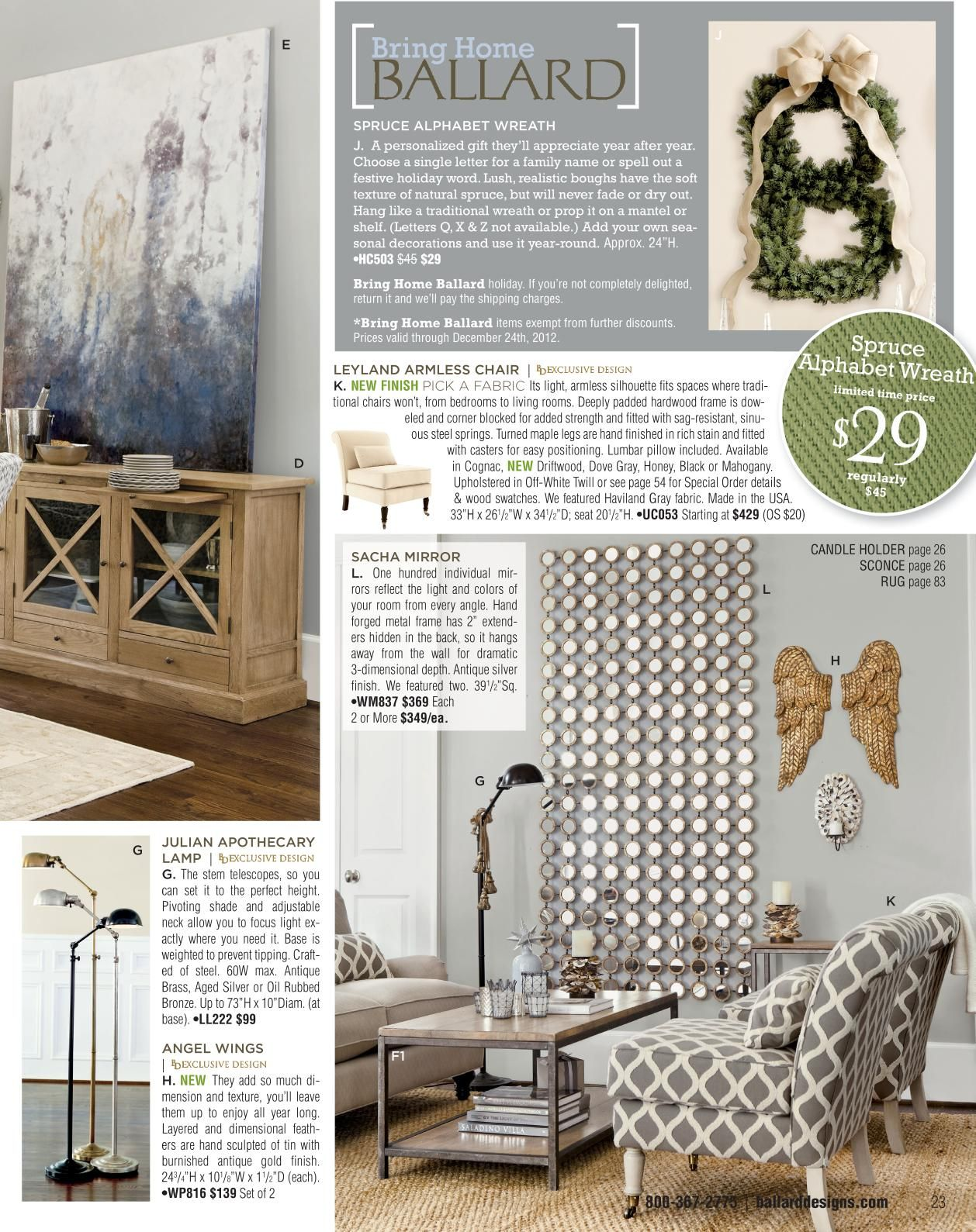 Home interior catalog ballard designs  obsessed with this stuff best catalog iuve ever