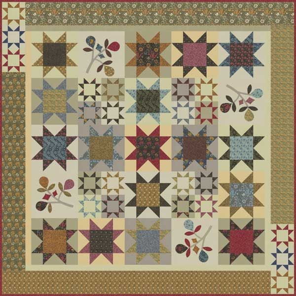 Moda Fabrics Barbara Brackman William Morris Earthly Paradise ... : william morris quilt patterns - Adamdwight.com