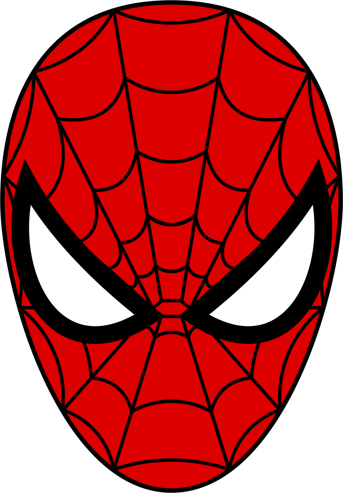 spider man mask from cardboard templates nextinvitation templates rh pinterest com Spider-Man Logo Iron Man Face Clip Art
