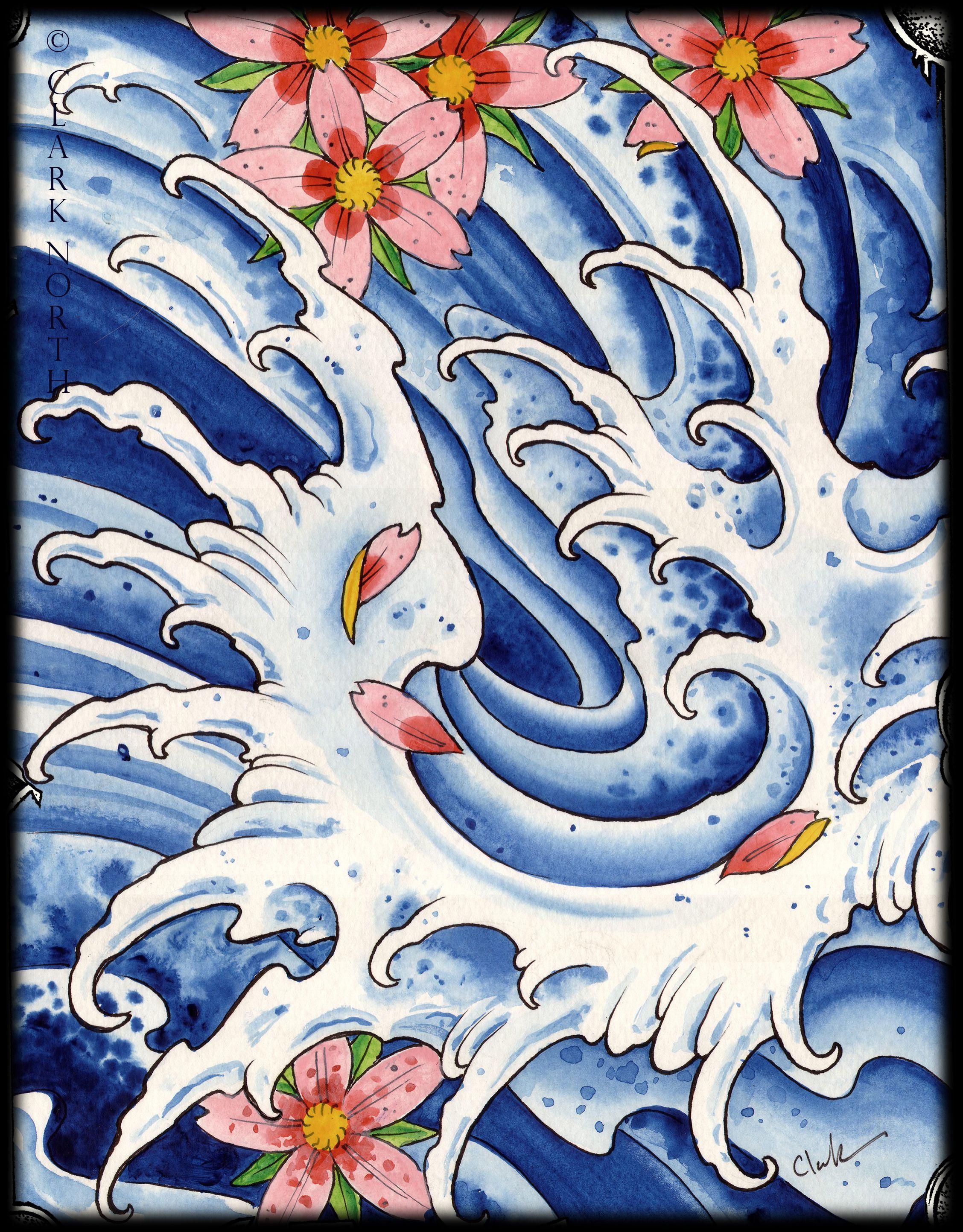 Japanese Flower Tattoos  Tattoo Art €� Clark North Tattoo