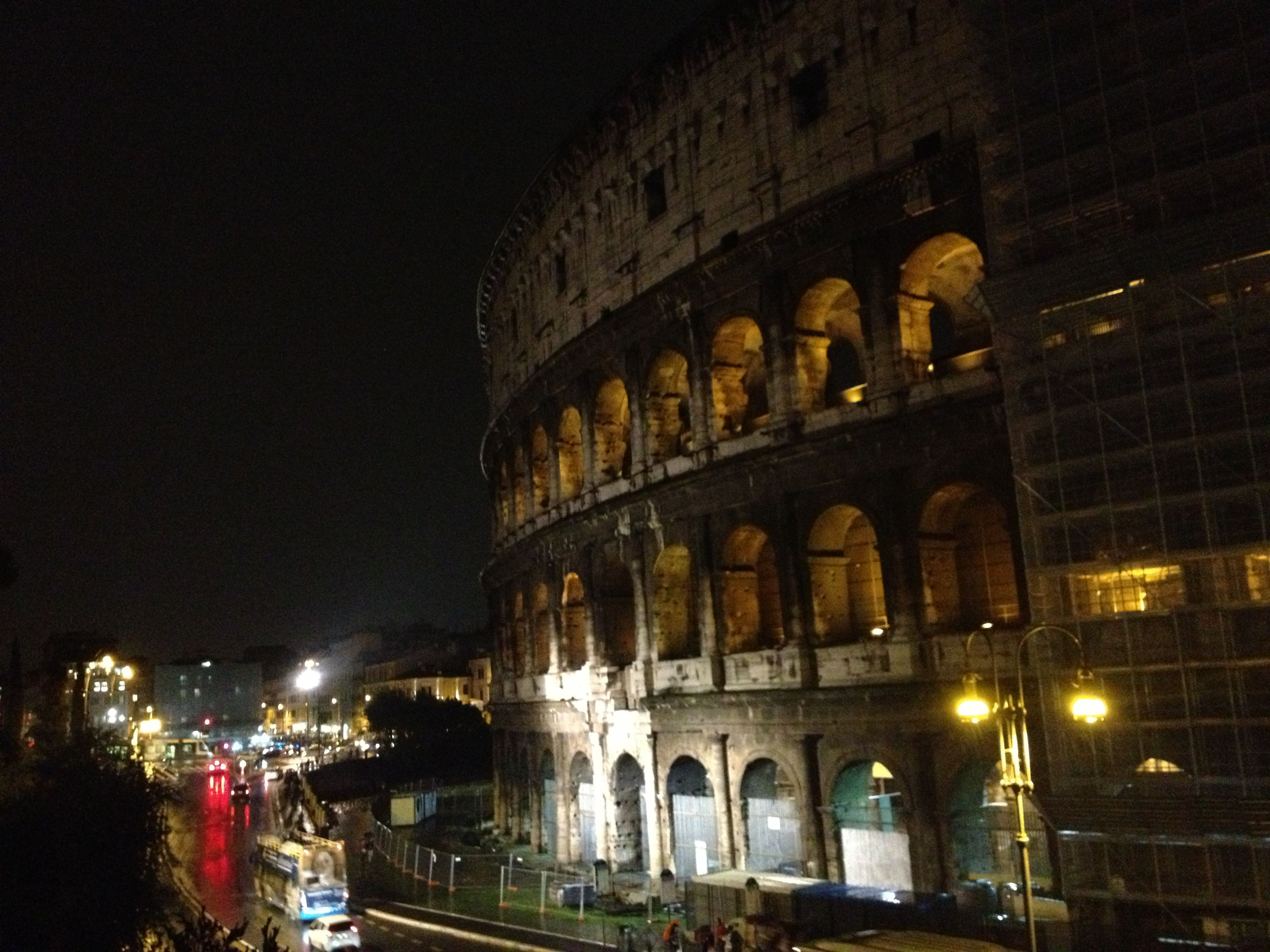 What a sight! Colosseum, Rome