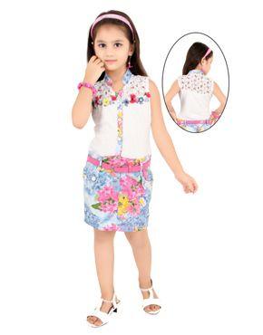 Rang Fashions two piece Short Western Dress