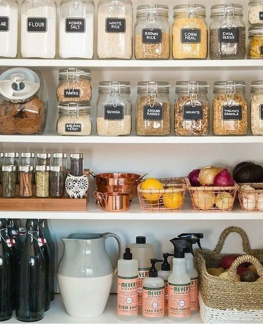 35 ideas for home organization decor command centers 33 homedecor homedecorideas home on kitchen organization elegant id=15161