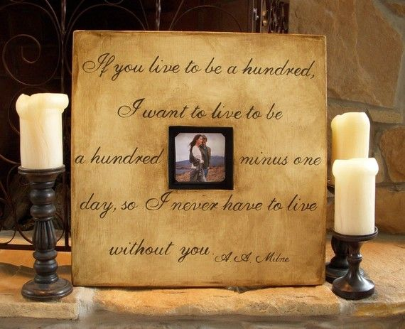 Custom Wood Picture Frames With Quotes Hand Painted By Hopestudios