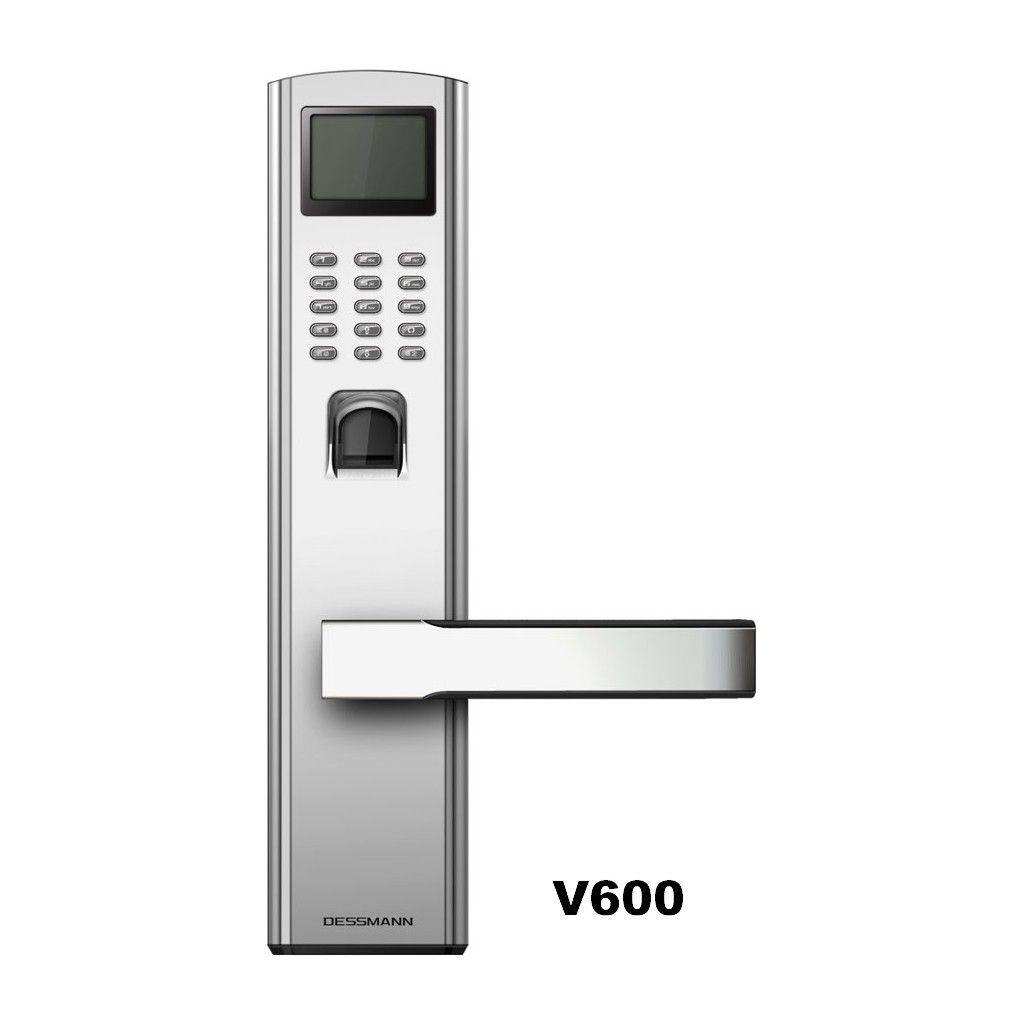 Door Lock V 600 Fingerprint Password Key Easy Handle Keypad Door Lock System Stylish Doors Digital Door Lock