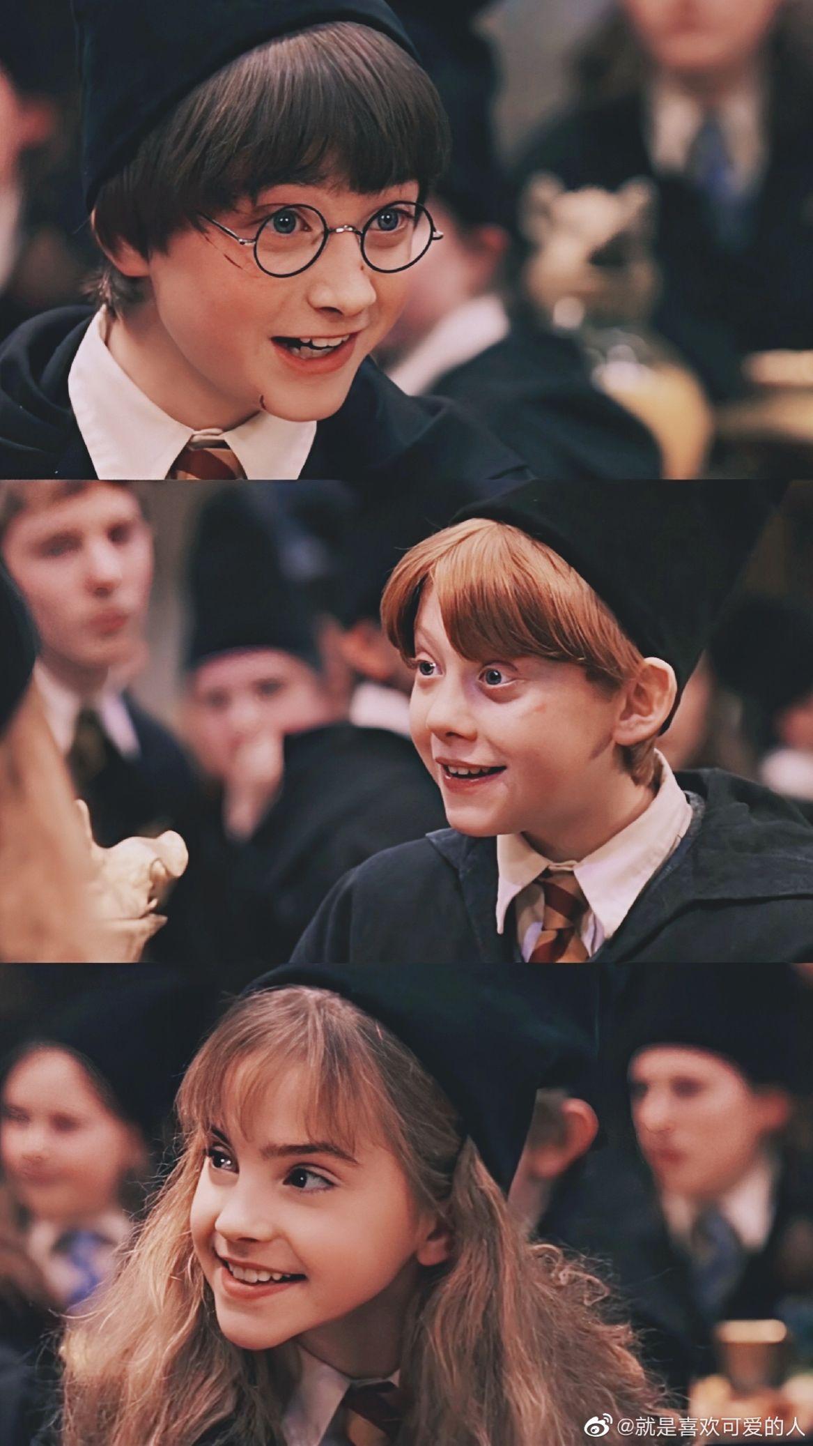 #DanielRadcliffe #HarryPotter #EmmaWatson #HermioneGranger #RupertGrint #RonWeasley #TomFelton #DracoMalfoy #JKRowling #phùThuỷ #bộ3 #7part