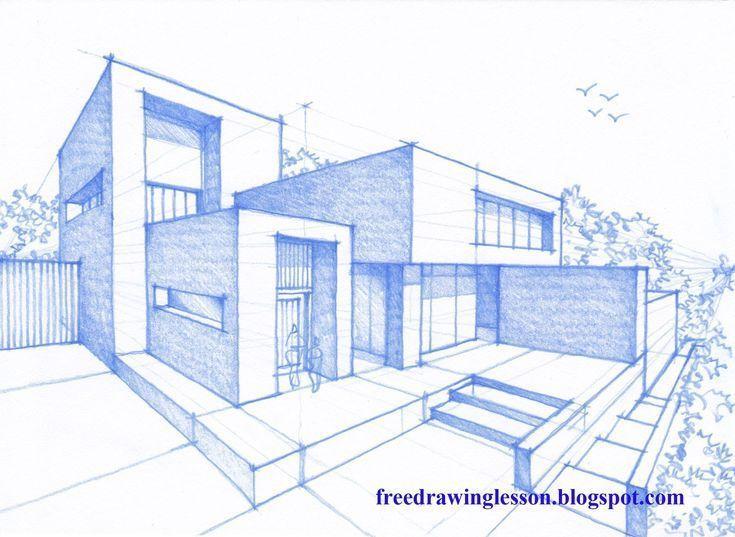 17 Zeichnungen von Häusern HÄUSERARCHITEKTUR