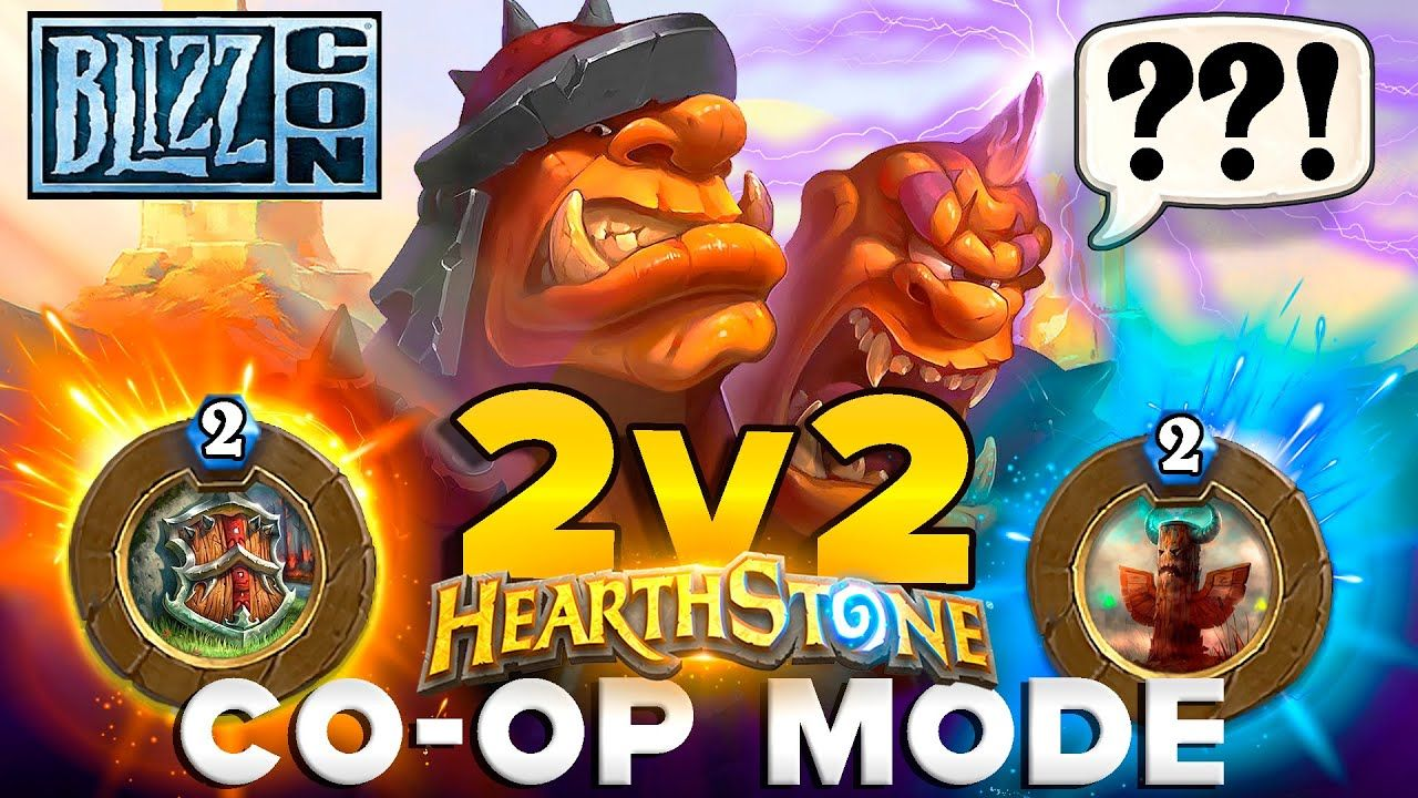 Hearthstone COOP Game Mode 2v2 This is what we should