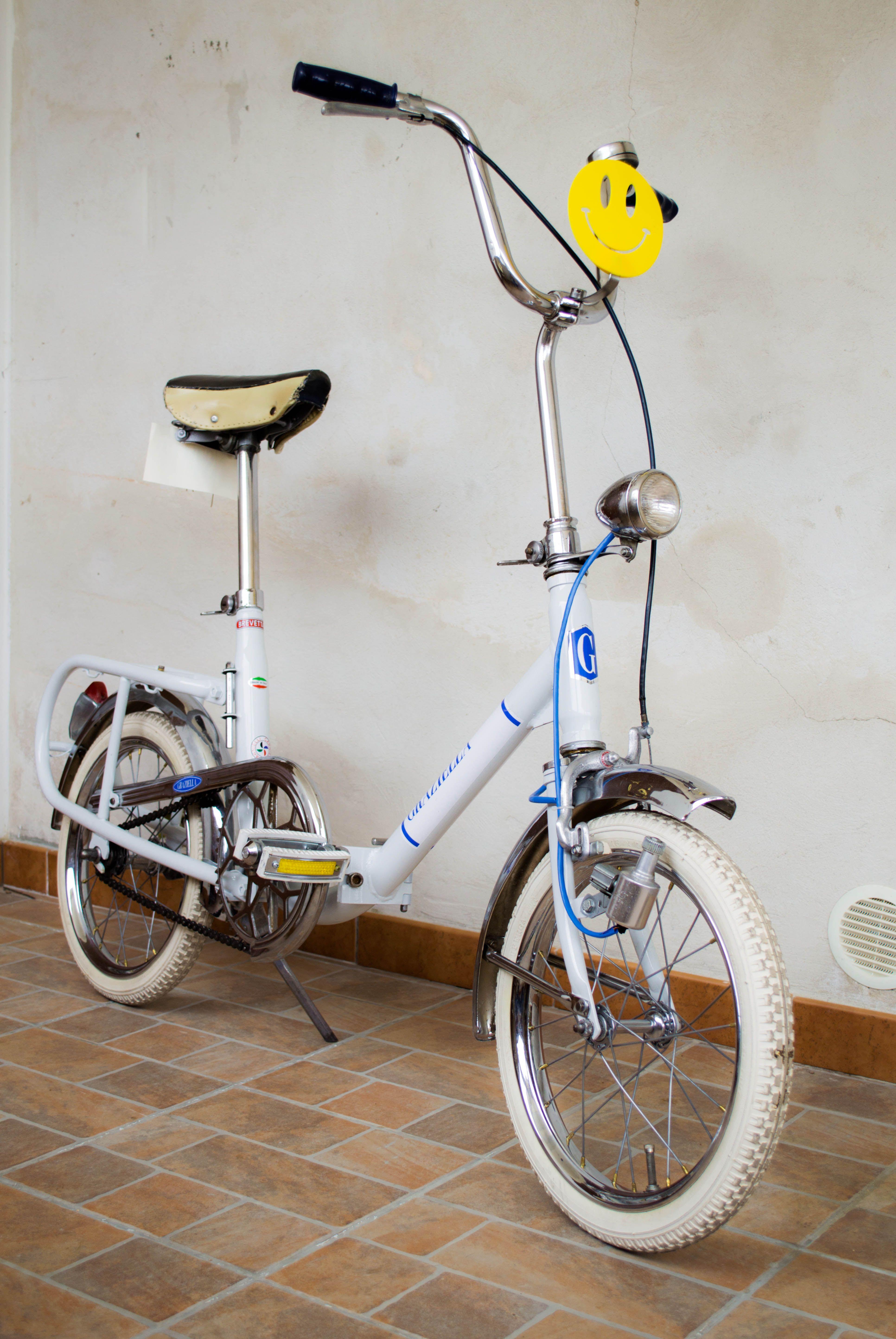 Graziella Carnielli Ruote 16 Bianca Contropedale Biciclette D