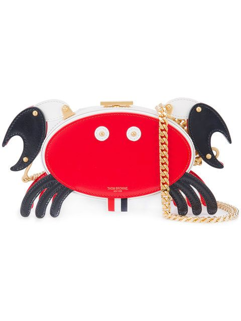 34d04b1e05 THOM BROWNE crab motif clutch. #thombrowne #bags #leather #clutch #hand bags  #