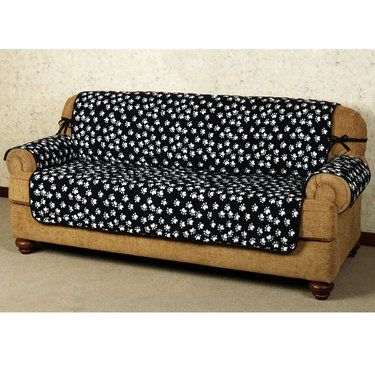 Terrific Paw Print Pet Furniture Covers With Straps Boys Space Andrewgaddart Wooden Chair Designs For Living Room Andrewgaddartcom