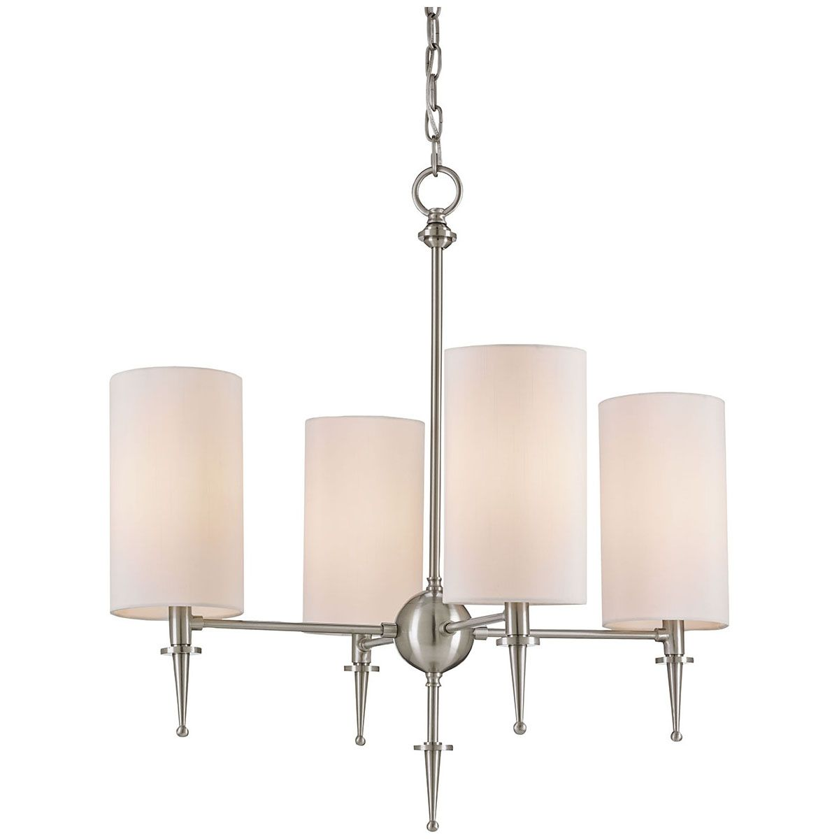 Currey and Company Stanhope Brushed Nickel Chandelier 9843