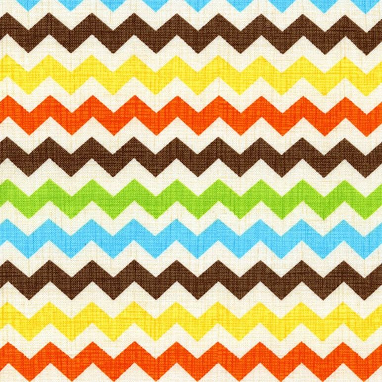 Timeless Treasures - Fiesta Zig Zag