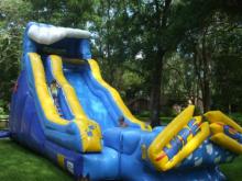 Roo S Wet Or Dry Slides Jacksonville Florida Bounce House Rentals Bounce House Rentals House Rental Jacksonville Florida