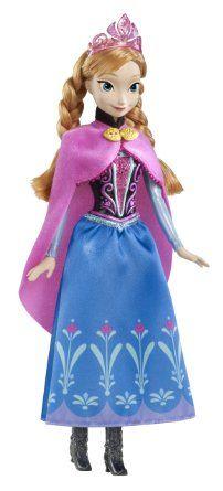 Disney princesses y9958 poup e la reine des neiges anna scintillante jeux et - Jeux princesse des neiges ...