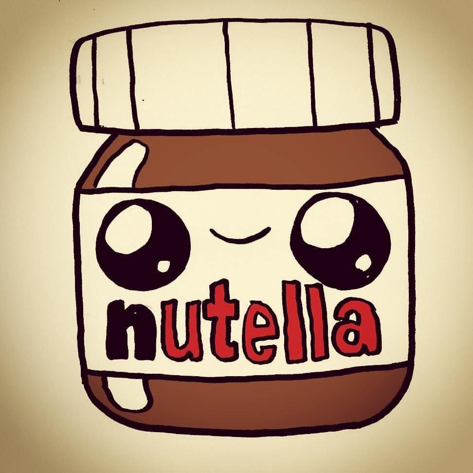 Aqui Teneis Una Nutella Super Kawaii Espero Que Os Guste Nutella