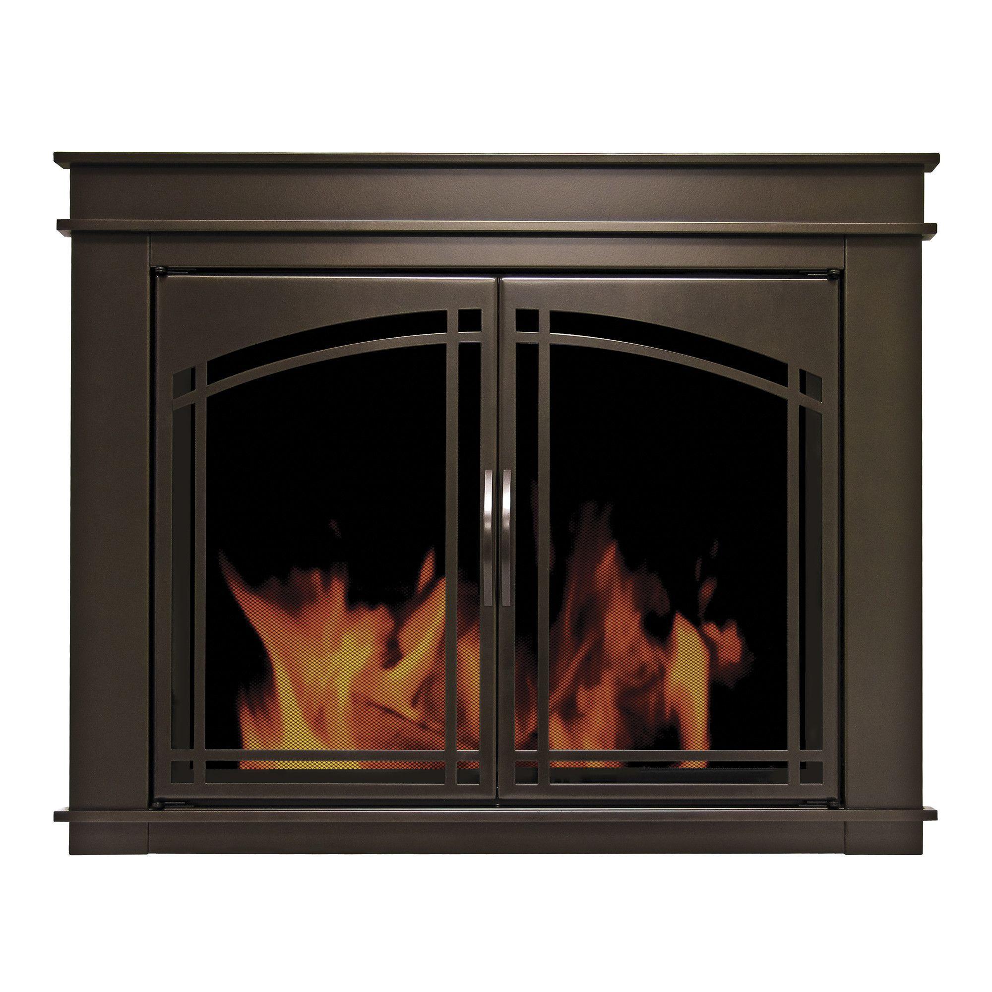Fenwick Cabinet Style Steel Fireplace Doors Fireplaces Fireplace Glass Doors Fireplace Doors Cabinet Styles