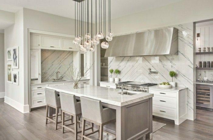 Küchenrückwand Dekor ~ Marmor als küchenrückwand küche einrichtungsideen und möbel